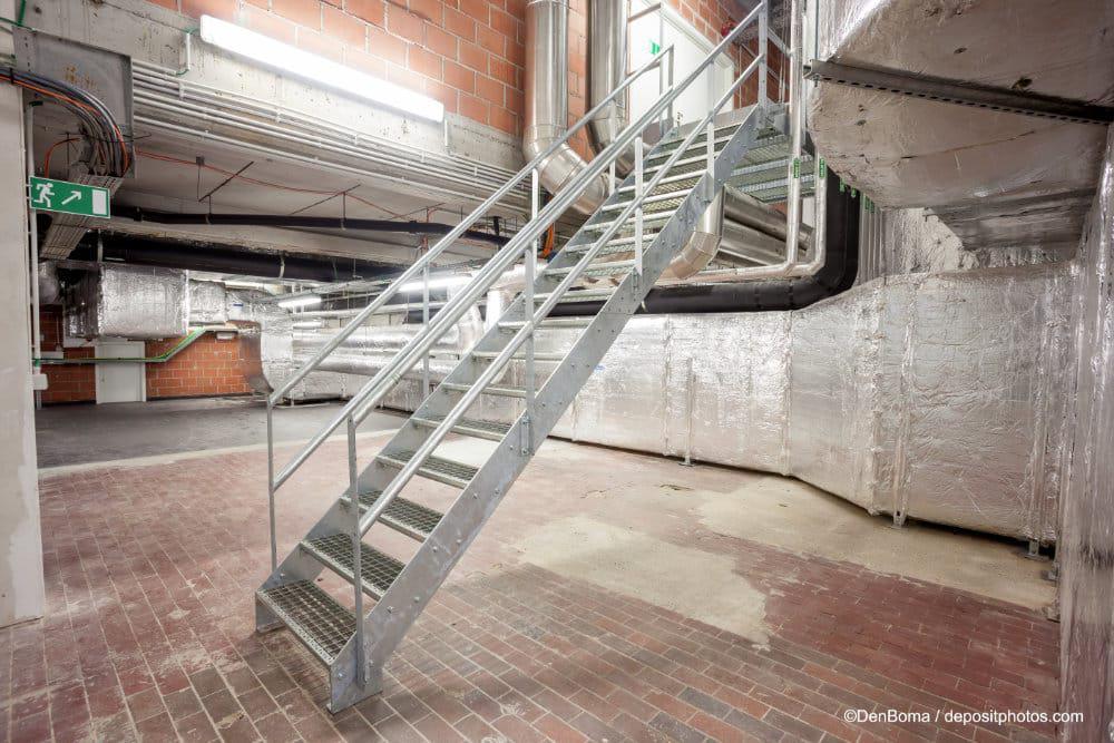 Stahltreppen