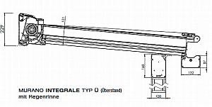 Terrassendach mit integrierter Markise